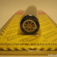 Scalextric: EJE I EJES I RUEDAS I TREN DE RUEDAS TRASERO BUGATTI EB 110 NUEVO SCALEXTRIC. Lote 150580042