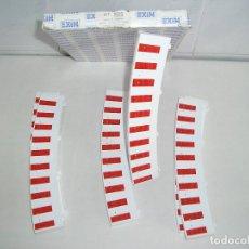 Scalextric: SCALECTRIC - BORDE PARA CURVA EXTERIOR 6 UD - NUEVO A ESTRENAR. Lote 151158574
