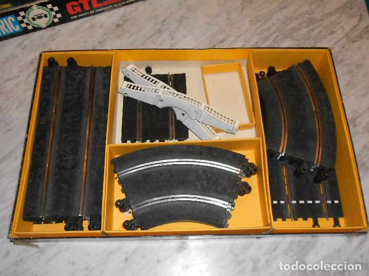 Scalextric: SCALEXTRIC VINTAGE EXIN CIRCUITO GTLEMANS 30 CAJA PISTAS SLOT GTL-30 MADE IN SPAIN AÑOS 70 - Foto 10 - 36580232