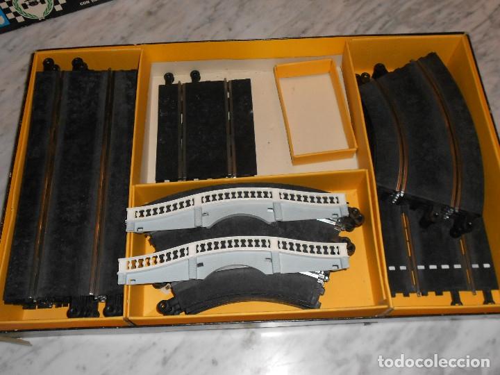 Scalextric: SCALEXTRIC VINTAGE EXIN CIRCUITO GTLEMANS 30 CAJA PISTAS SLOT GTL-30 MADE IN SPAIN AÑOS 70 - Foto 11 - 36580232