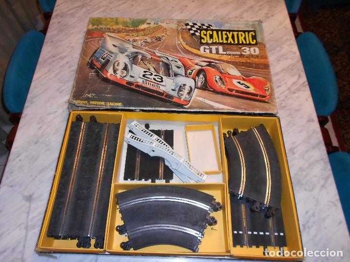 Scalextric: SCALEXTRIC VINTAGE EXIN CIRCUITO GTLEMANS 30 CAJA PISTAS SLOT GTL-30 MADE IN SPAIN AÑOS 70 - Foto 13 - 36580232