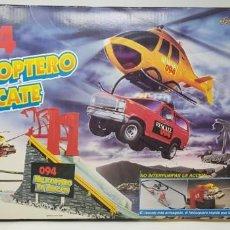 Scalextric: 094 HELICÓPTERO DE RESCATE. FAMOPLAY RACING TEAM. COMPLETO, COMO NUEVO.. Lote 152005138
