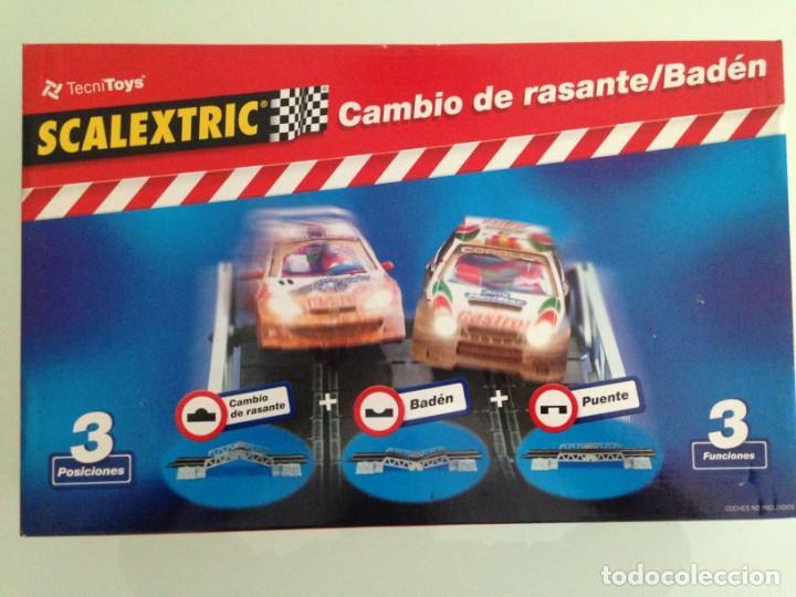 SLOT, SCALEXTRIC 8802,CAMBIO DE RASANTE, BADÉN, PUENTE, 3X1 (Juguetes - Slot Cars - Scalextric Pistas y Accesorios)