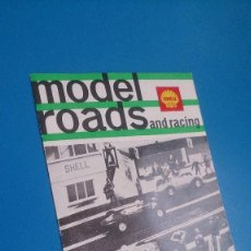 Scalextric: PUBLICIDAD MODEL ROADS SCALEXTRIC. Lote 152458174