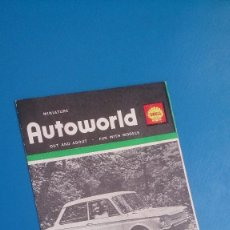 Scalextric: PUBLICIDAD AUTOWORLD SCALEXTRIC. Lote 152458322