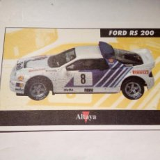 Scalextric: ALTAYA TARJETA FORD RS 200. Lote 153090394