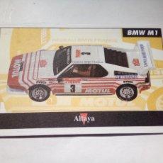 Scalextric: ALTAYA TARJETA BMW M1. Lote 153090634