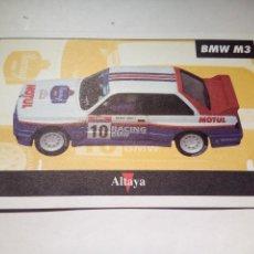 Scalextric: ALTAYA TARJETA BMW M3. Lote 153091238