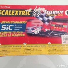 Scalextric: SLOT, SCALEXTRIC 8510, TRAINER 1 COMPUTER, CUENTA VUELTAS DIGITAL MULTIFUNCIÓN, SIC. Lote 153436994