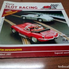 Scalextric: GUIA SLOT RACING Nº8 1997-FICHAS DEL LANCIA STRATOS Y AUDI QUATTRO. Lote 155606722
