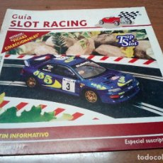 Scalextric: -GUIA SLOT RACING Nº10 1997-FICHAS DEL TOYOTA CELICA GT Y BMW M3 -M3. Lote 155607834