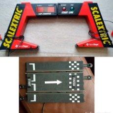 Scalextric: PUENTE COMPLETO DE SCALEXTRIC - CUENTAVUELTAS DIGITAL, SEMÁFORO Y PISTA DE CONTROL (TECNIC TOYS®). Lote 146786230