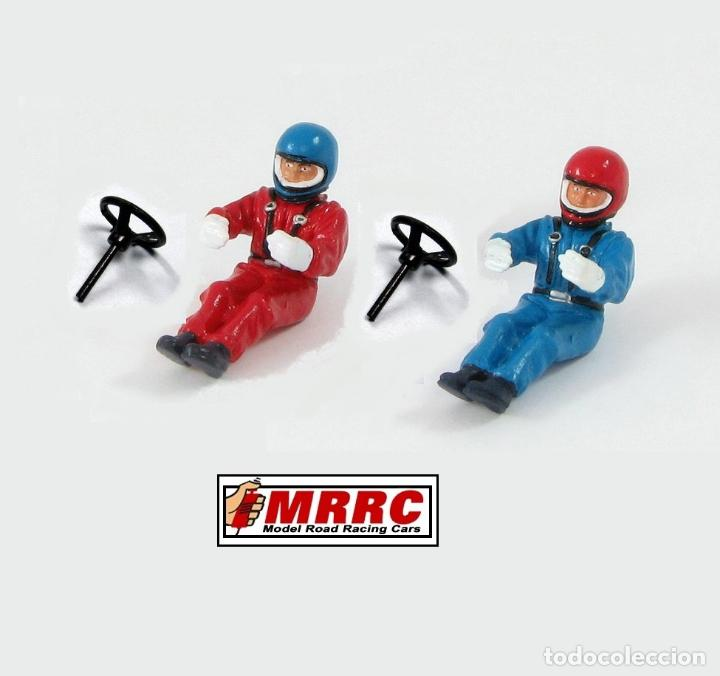 MRRC 1:32 2 FIGURAS PILOTO CON VOLANTE RESIN KIT SCALEXTRIC FIGURA (Juguetes - Slot Cars - Scalextric Pistas y Accesorios)