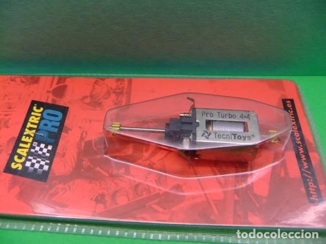 SCALEXTRIC PRO TECNITOYS MOTOR PRO TURBO 4X4 EN SU CAJA ORIGINAL (Juguetes - Slot Cars - Scalextric Pistas y Accesorios)