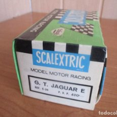 Scalextric: SCALEXTRIC: CAJA VACIA DEL MODELO DE COCHE, G.T. JAGUAR REF. C-34. Lote 160177578