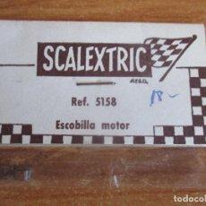 Scalextric: SCALEXTRIC EXIN LINE BROS REF. 5158: ESCOBILLA MOTOR , EN BLISTER PRECINTADO, NUEVO. Lote 160322546