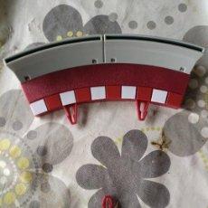 Scalextric: LOTE BORDES CURVA INTERIOR PISTA GRIS SCALEXTRIC. TARIFA ÚNICA DE ENVÍO. Lote 113349383