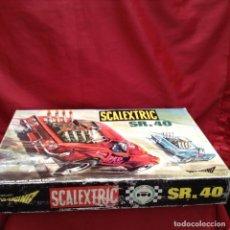 Scalextric: COMPLETISIMO CIRCUITO DE SCALEXTRIC S.R 40 CON CAJA 2 CHEVROLET ,. Lote 161123994