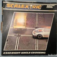 Scalextric: CRUCE RECTO DE SCALEXTRIC C249. Lote 161921902