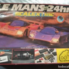 Scalextric: LE MANS 24 HR COMPLETO. Lote 162907674