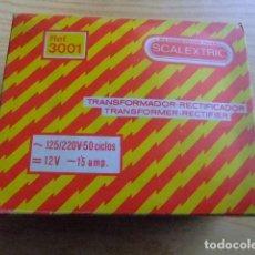 Scalextric: SCALEXTRIC TRANSFORMADOR TRIANG EXIN EN SU CAJA Y INSTRUCCIONES. Lote 165301166