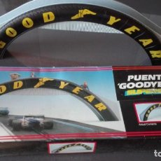 Scalextric: PUENTE GOODYEAR - SUPERSLOT. Lote 165578894