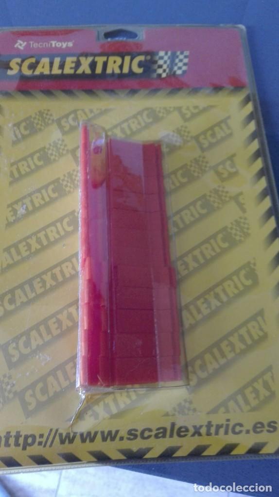 Scalextric: ANDAMIO ELEVADOR DE PISTAS + CUÑAS - Foto 2 - 165580206