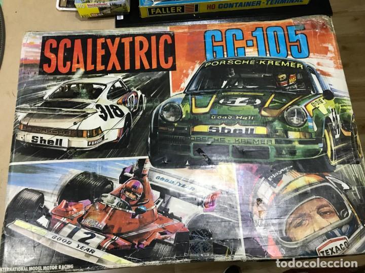CIRCUITO SCALEXTRIC EXIN GC 105 SIN COCHES (Juguetes - Slot Cars - Scalextric Pistas y Accesorios)