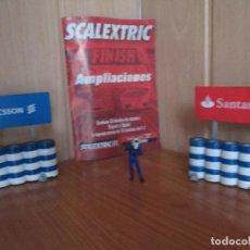 Scalextric: SCALEXTRIC: LOTE PROTECCIONES Y FOLLETO CIRCUITOS. Lote 167524880