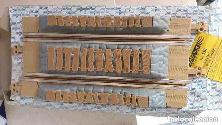 Scalextric: LOTE SCALEXTRIX STS REF. OBSTACULOS DE PISTAS REF. 2309 2310 Y 2311 OJO LEER - Foto 4 - 167984616