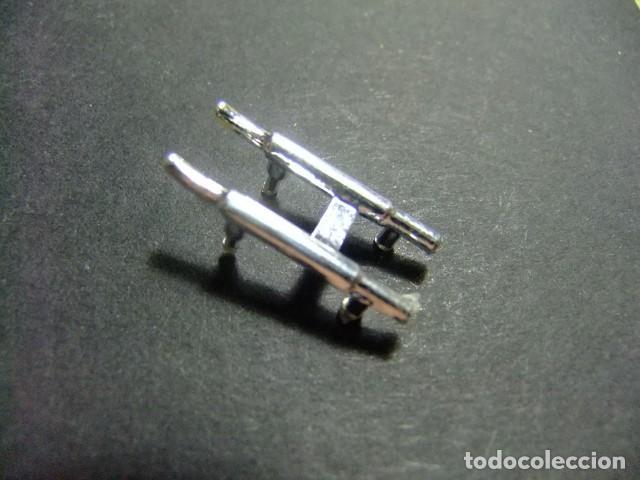 SCALEXTRIC ACCESORIO JAGUAR E C 34 TUBOS DE ESCAPE (Juguetes - Slot Cars - Scalextric Pistas y Accesorios)