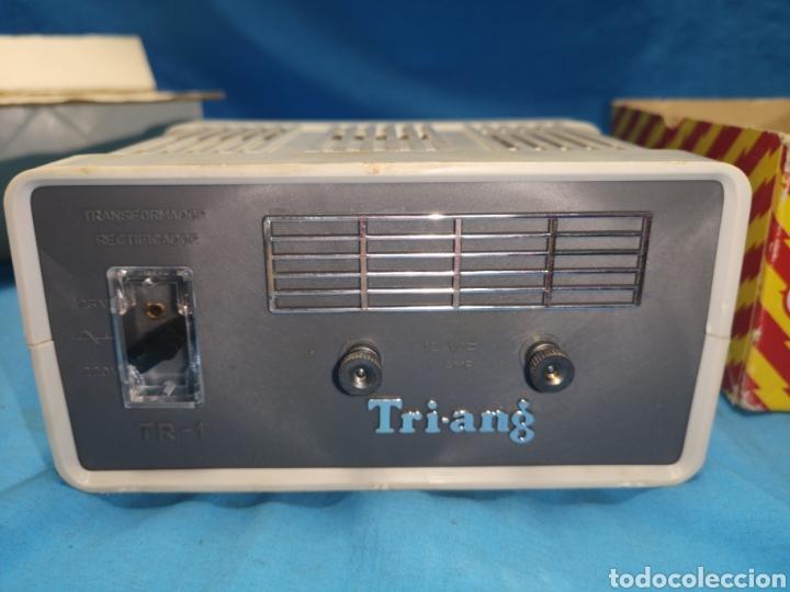 Scalextric: Transformador para Scalextric TRI-ANG Original en su caja - Foto 6 - 171348885