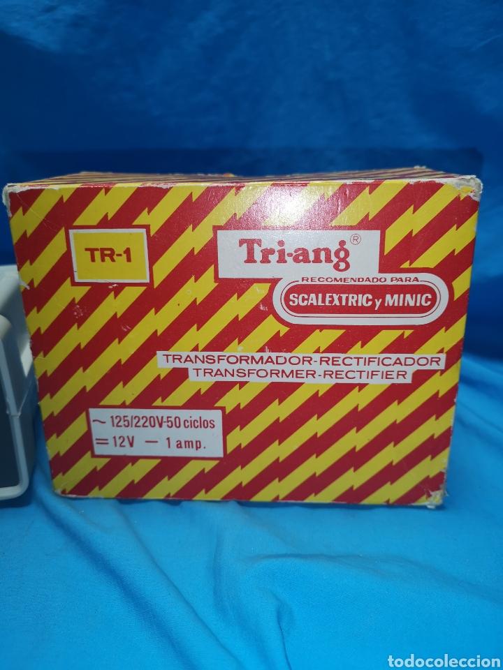 Scalextric: Transformador para Scalextric TRI-ANG Original en su caja - Foto 7 - 171348885