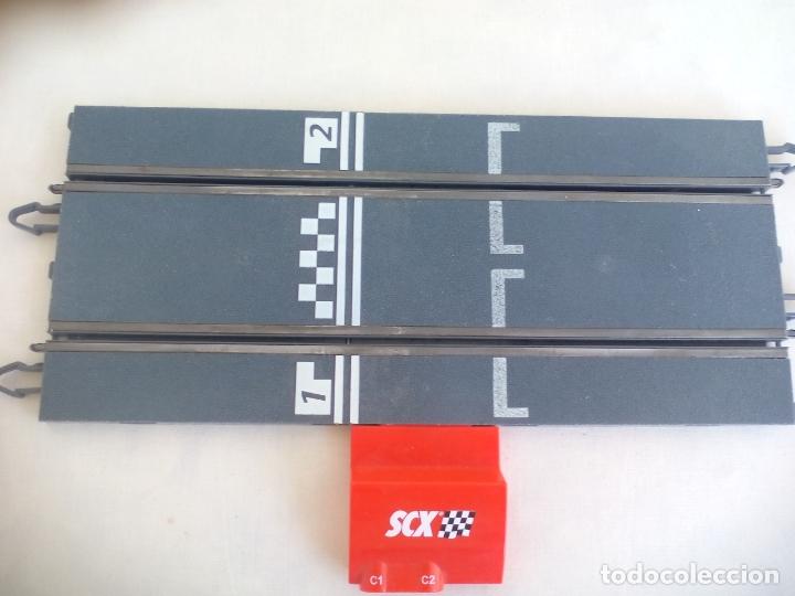 Scalextric: RECTA DE CONEXION SCALEXTRIC COMPATIBLE CON WOS Y DIGITAL SYSTEM - SLOT - TECNITOYS - Foto 2 - 173625333