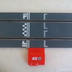Scalextric: RECTA DE CONEXION SCALEXTRIC COMPATIBLE CON WOS Y DIGITAL SYSTEM - SLOT - TECNITOYS. Lote 173625333