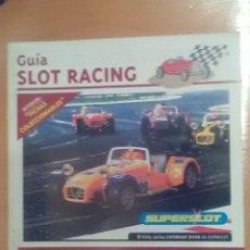 Scalextric: GUIA SLOT RACING INCLUYE FICHAS 21 CRIC CRAC 1995. Lote 173877562