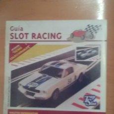 Scalextric: GUIA SLOT RACING INCLUYE FICHAS 15 CRIC CRAC 1995. Lote 173877614
