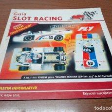 Scalextric: GUIA SLOT RACING Nº28 - FICHAS PORSCHE 911 JOCAVI Y PORSCHE 935. Lote 173902524