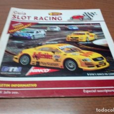 Scalextric: -GUIA SLOT RACING Nº24 - FICHAS MERCEDES BENZ BP Y MERCEDES BENZ ANTAR. Lote 173902892