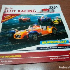 Scalextric: GUIA SLOT RACING Nº21 - FICHAS RENAULT ALPINE 2000 TURBO BANCO OCCIDENTAL Y TYRRELL P-34 F1. Lote 173903327