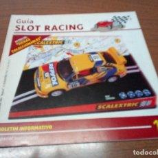 Scalextric: GUIA SLOT RACING Nº17 - FICHAS MERCEDES 250 SL Y MERCEDES 250 SL SPORT. Lote 173904284