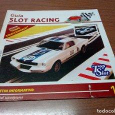 Scalextric: GUIA SLOT RACING Nº15 - FICHAS HONDA F1 PRIMERA SERIE Y HONDA F1 SEGUNDA SERIE. Lote 173904558