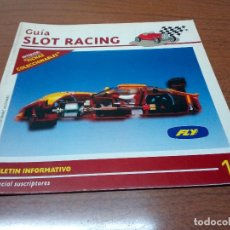 Scalextric: -GUIA SLOT RACING Nº13 - FICHAS FORD MUSTANG DRAGSTER Y MERCEDES WANKEL C-3. Lote 173904758