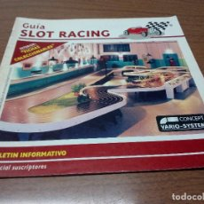Scalextric: -GUIA SLOT RACING Nº11 - FICHAS LANCIA 037 OLIO FIAT Y MC LAREN F1. Lote 173904974