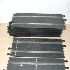 Scalextric: SCALEXTRIC LOTE 14 RECTAS 350 MM TRAMOS DE PISTA EXIN SLOT TRACKS. Lote 174257223