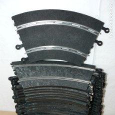 Scalextric: SCALEXTRIC LOTE 31 CURVAS STANDAR TRAMOS DE PISTA EXIN SLOT TRACKS ESTANDAR. Lote 174257493