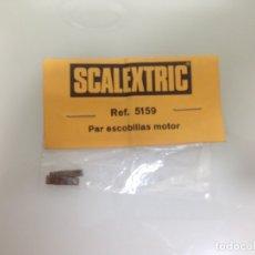 Scalextric: SLOT,SCX,5159, PAR ESCOBILLAS MOTOR, SCALEXTRIC, NUEVAS A ESTRENAR. Lote 175029800