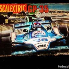 Scalextric: SCALEXTRIC GP 35 PISTAS INSTRUCCIONES CAJA. Lote 175073274
