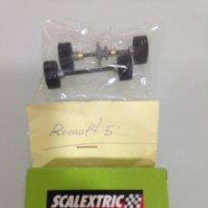 Scalextric: SLOT, RENAULT 5, TREN DE RUEDAS COMPLETO. Lote 175089424