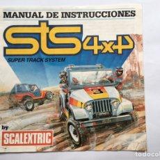 Scalextric: MANUAL DE INSTRUCCIONES SCALEXTRIC 4X4 STS. Lote 175466238
